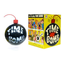 time bomb game 1964 in box by milton bradley nice