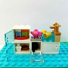 kitchen new lego stocked sink food dishes