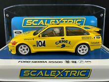 scalextric c4155 ford sierra rs500 camel 1 32