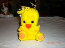 russ berrie 1977 chickles plush spring easter