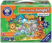 jigsaw puzzle orchard toys who s in jungle 25pc
