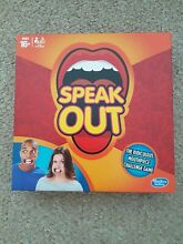 hasbro speak out party board game