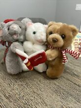 russ berrie luv pets christmas plush mouse cat
