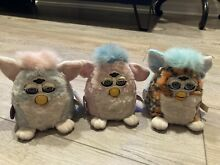 furby babies baby blue tiger pink white
