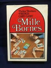 mille bornes french card game parker brothers