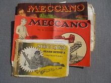 meccano instruction booklets gears outfit a