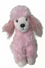 russ berrie fifi pink poodle dog plush 8