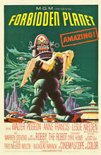 robby the robot forbidden planet robby robot poster