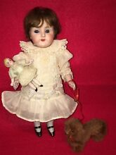 big german all bisque doll 8 likely