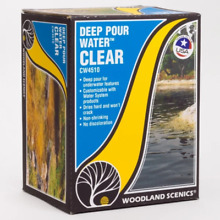 woodland scenics deep pour water clear ws cw4510