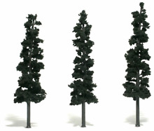 woodland scenics 7in 8in rm real pine3 pk ws tr1563