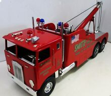 smith miller kenworth coe tow truck toy