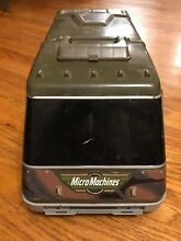 micro machines military van rv fold out playset