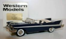 western models 1 43 wms51x 1958 plymouth belvedere