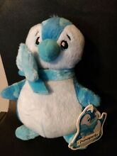 neopets electric blue bruce plushie 2003