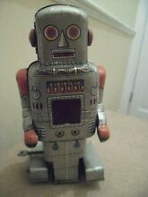 robot tinplate sparking paddle by sy toys