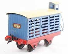 louis roussy train hornby wagon betaillere