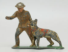 dime store soldiers barclay soldier dog lead dimestore