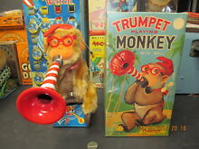 alps trumpet playing monkey battery