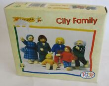wooden puppet toys pure so 218 city family 6 s