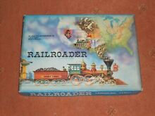 waddingtons railroader board game by incomplete