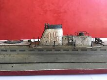 submarine exceptional wood pond boat 1930