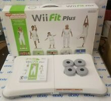 wii fit balance board complete plus game