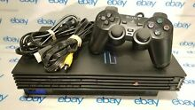 ps2 sony playstation 2 fat console