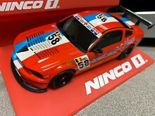 scalextric 1 32 ninco 55044 mustang gt500 r