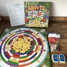 board game fruits game by upstarts 1992 for 2
