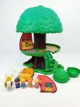 kenner tree tots 1970s tree house extras