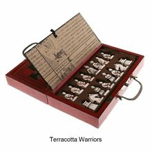 board game foldable chinese schach set wood