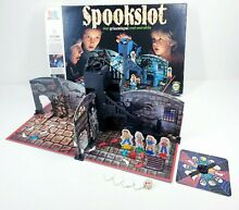 board game 1986 ghost castle mb spookslot 100