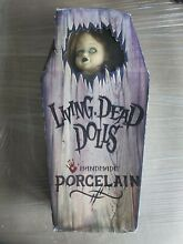 living dead doll 18 porcelain posey limited