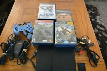 ps2 slim console 20 games