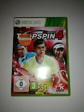 spin top top spin 4 microsoft xbox 360 2011