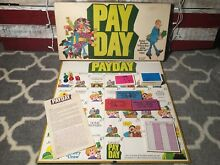 pay day board game 1975 parker