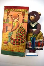 alps busy housekeeping bear 1950 s co