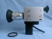Braun Super 8 Cine Film Camera Con