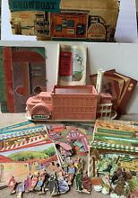 remco showboat theater playset w orig box
