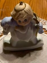 rocking horse russ berrie co angel on ornament