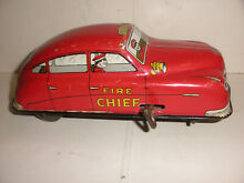 courtland tin fire chief s car 1940 s 4000