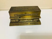 banthrico bronzed metal bank st paul federal