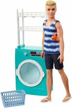 ken barbie doll home laundry playset