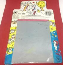 magic slate 1985 my little pony paper saver toy