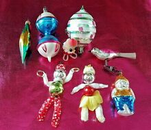 vintage christmas ornaments 1950s 60s glass christmas tree