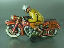 tippco tco wagner motorrad lithographiert