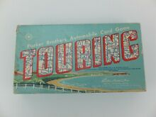touring game parker brothers automobile card