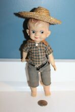 effanbee 1950s mickey 8 agriculteur sheriff