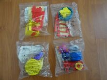 mcdonalds happy meal toys circus complete set
